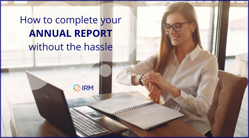 Annual report without hassle